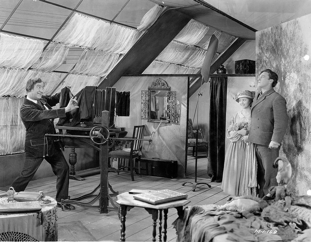 SUNRISE: A SONG OF TWO HUMANS, 1927, Janet Gaynor, George O'Brien, F.W.  Murnau JaysClassicMovieBlog